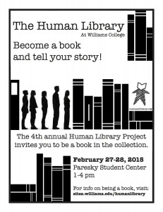 human library recruitment flyer